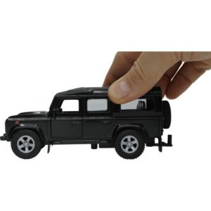 Grøn Land Rover Defender Med Dyretransporter Kids Globe