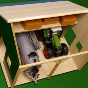 Garage Kids Globe til traktorer i træ