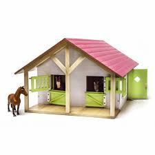 Hestestald Kids Globe med 2 hestebokse