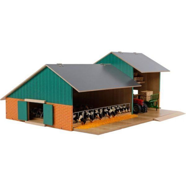 Kostald med opbevaringsrum i træ Kids Globe