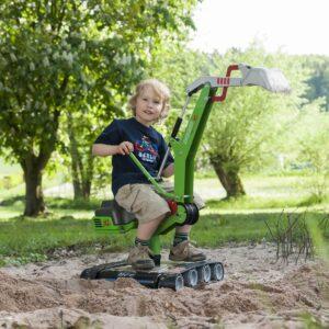 gravemaskine i grøn